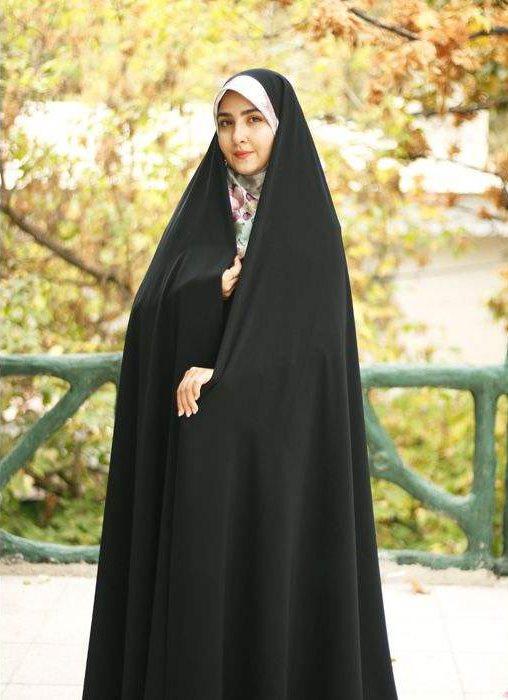 چادر ایرانی ساده سنتی